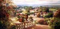 Balcony Paradiso -ovsz Fine Art Print