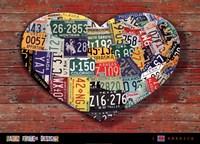I Heart America Fine Art Print