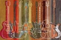 Guitar Heritage Framed Print