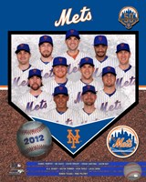 "2012 New York Mets Team Composite, 2012 - 8"" x 10"""