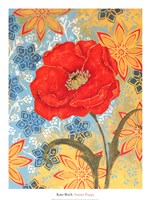 "Sunset Poppy by Kate Birch - 20"" x 26"""