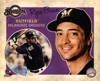 Ryan Braun 2012 Studio Plus Fine Art Print
