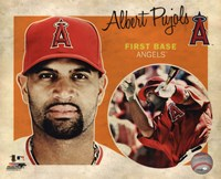 Albert Pujols 2012 Studio Plus Fine Art Print