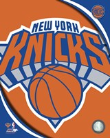 New York Knicks 2012 Team Logo Fine Art Print