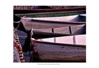 Wooden Rowboats VII Fine Art Print