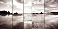 "Tides on Bandon Beach by Alan Majchrowicz - 40"" x 20"""
