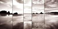 Tides on Bandon Beach Fine Art Print