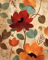 Vibrant Embroidery II Fine Art Print
