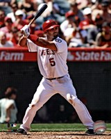 Albert Pujols 2012 batting Fine Art Print