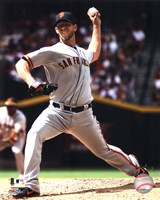 Madison Bumgarner 2012 Action Fine Art Print
