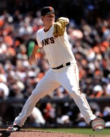 Matt Cain 2012 Action Fine Art Print