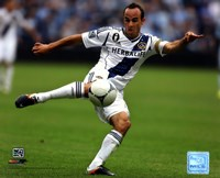 Landon Donovan 2012 Action Framed Print