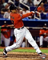 Giancarlo Stanton 2012 Action Fine Art Print