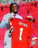 Robert Griffin III 2012 NFL Draft #2 Draft Pick Fine Art Print
