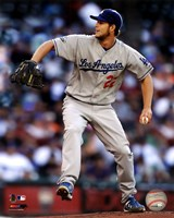 Clayton Kershaw 2012 Action Fine Art Print