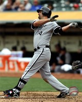 Paul Konerko 2012 Action Fine Art Print