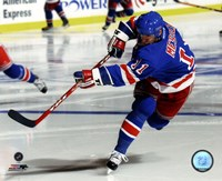 Mark Messier Action Fine Art Print