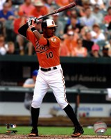 Adam Jones 2012 batting Fine Art Print