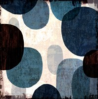 Blue Drips I Fine Art Print
