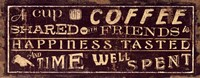 Coffee Quote III Fine Art Print