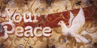"Your Peace by Rodney White - 24"" x 12"""