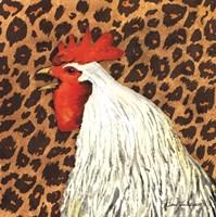 Cheetah Rooster Fine Art Print