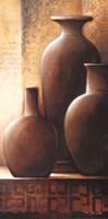 Vase Trio II Fine Art Print