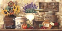 Antique Kitchen Framed Print