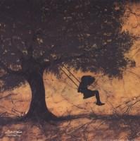 """The Golden Days by Britt Hallowell - 12"""" x 12"""""""
