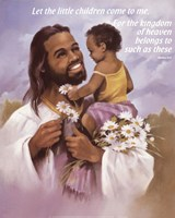 Christ with Child Fine Art Print
