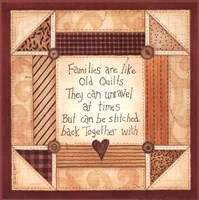 Old Quilts Fine Art Print