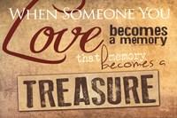 "Treasured Memories by Marla Rae - 18"" x 12"" - $12.99"