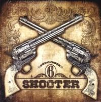 6 Shooter Fine Art Print