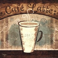 """Cafe Latte by Mollie B. - 12"""" x 12"""""""