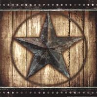 """Barn Star II by Mollie B. - 12"""" x 12"""""""