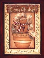 Yummy Holidays Fine Art Print