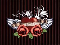 "16"" x 12"" Rose Art"