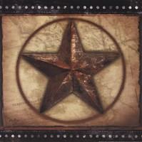 """Barn Star III by Mollie B. - 12"""" x 12"""""""