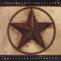 """Barn Star IV by Mollie B. - 12"""" x 12"""""""