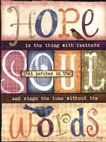 Soul Words Fine Art Print