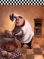 """Master Chef by Dee Dee - 12"""" x 16"""""""