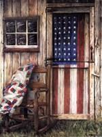 American Rocker Fine Art Print