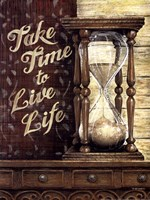 Take Time To Live Life Fine Art Print