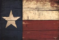 "Texas Flag by Mollie B. - 18"" x 12"""