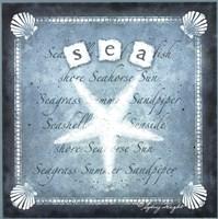 """Sea by Sydney Wright - 12"""" x 12"""""""