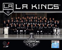 Los Angeles Kings 2012 NHL Stanley Cup Champions Team Photo Fine Art Print