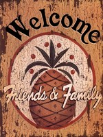 "Pineapple Welcome by Linda Spivey - 12"" x 16"""