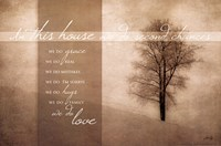 In This House Fine Art Print