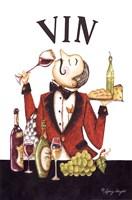 Waiter Vin Fine Art Print