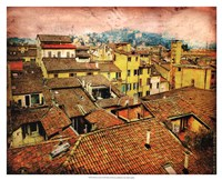 "Bird's-eye Italy I by Robert McClintock - 21"" x 17"""